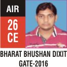 Peeyush Kr. Shrivastav, GATE 2016, RANK 26A